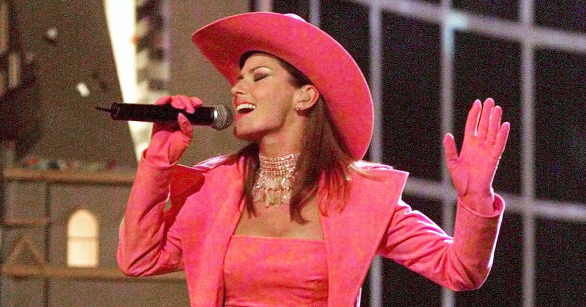 Shania Twain 1999 Cma Awards 50 Great Photos From 50