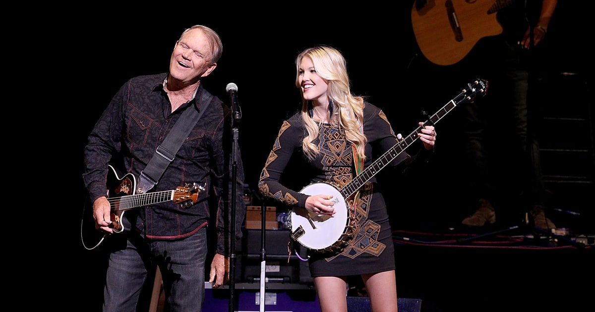 Glen Campbell 39 S Daughter Ashley Details Dad 39 S Declining