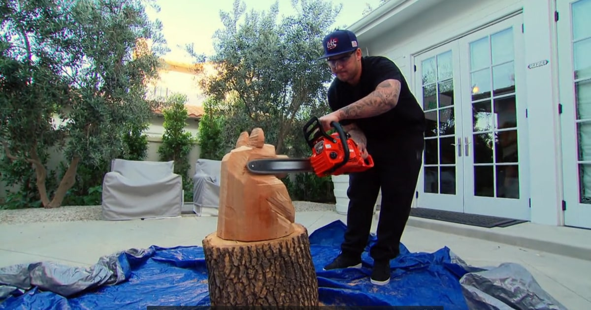 Rob is a chainsaw artist the kardashians best on