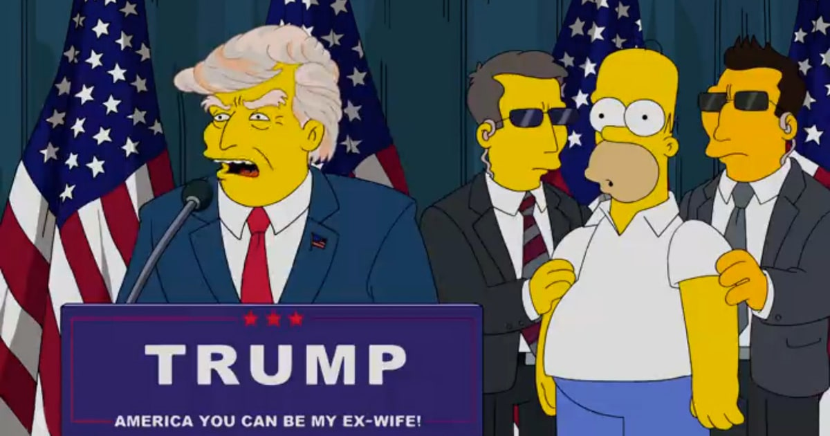Watch 'The Simpsons' Clown Donald Trump in New Short ...