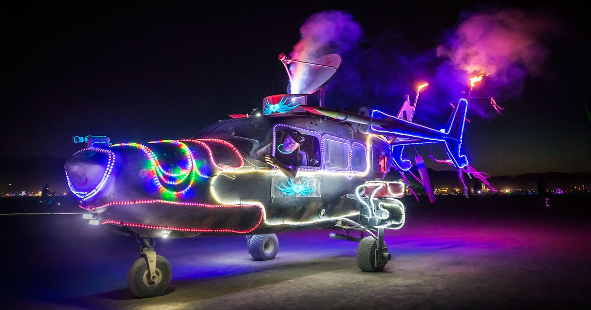 Get on My Psychic Plane | See Trippy, Surreal Photos From Burning Man 2015 | Rolling Stone