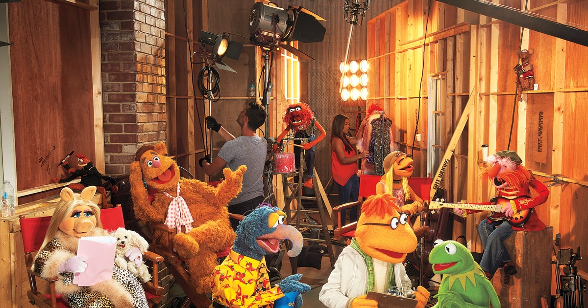 'The Muppets' Grow Up ...