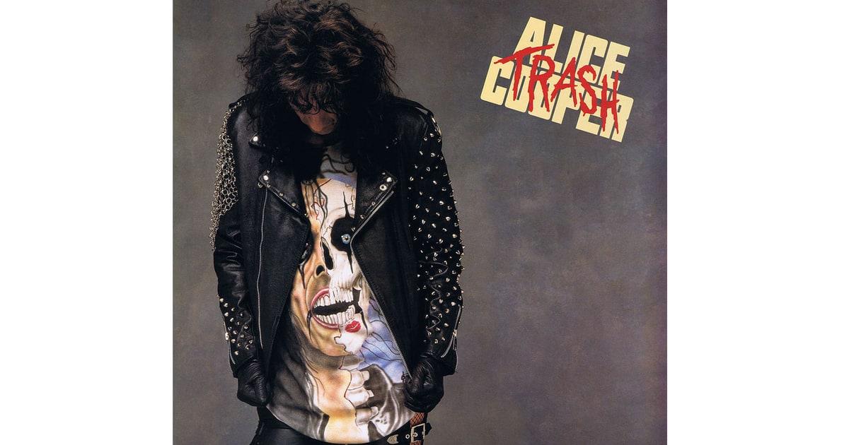 Alice Cooper Trash 1989 50 Greatest Hair Metal