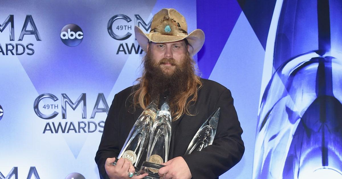 Chris Stapleton Is The Toast Of The 2015 Cma Awards