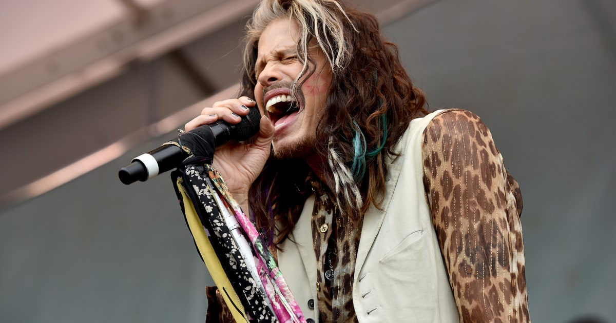 Steven Tyler Launches Janie S Fund To Help Child Abuse