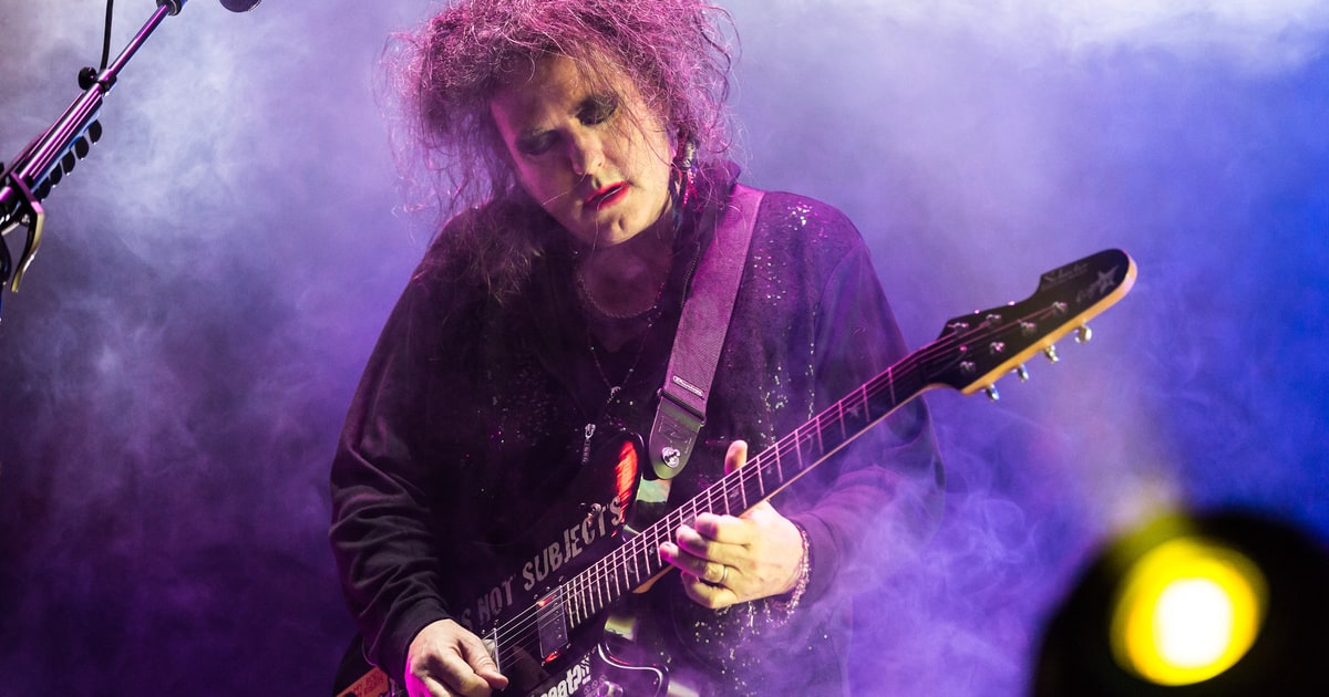The Cure Plot 2016 North American Tour Rolling Stone