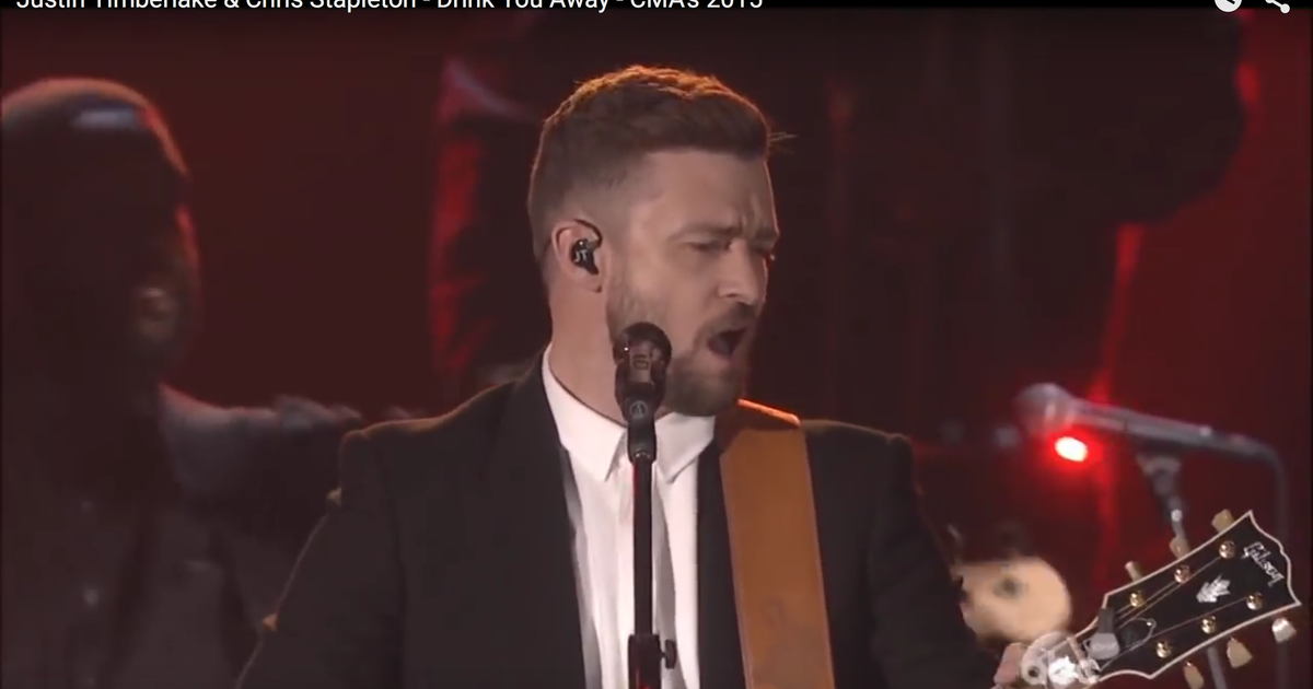 Justin Timberlake S 39 Drink You Away 39 Ships To Country