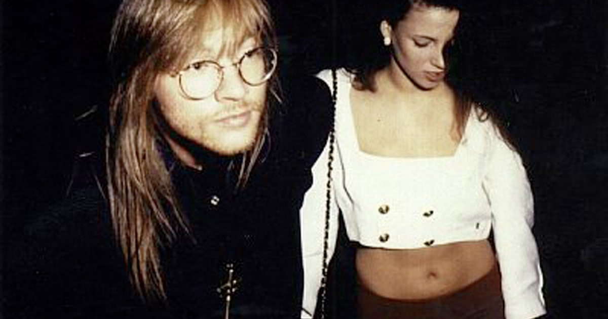 April 28th, 1990: Axl Rose And Erin Everly Have Las Vegas
