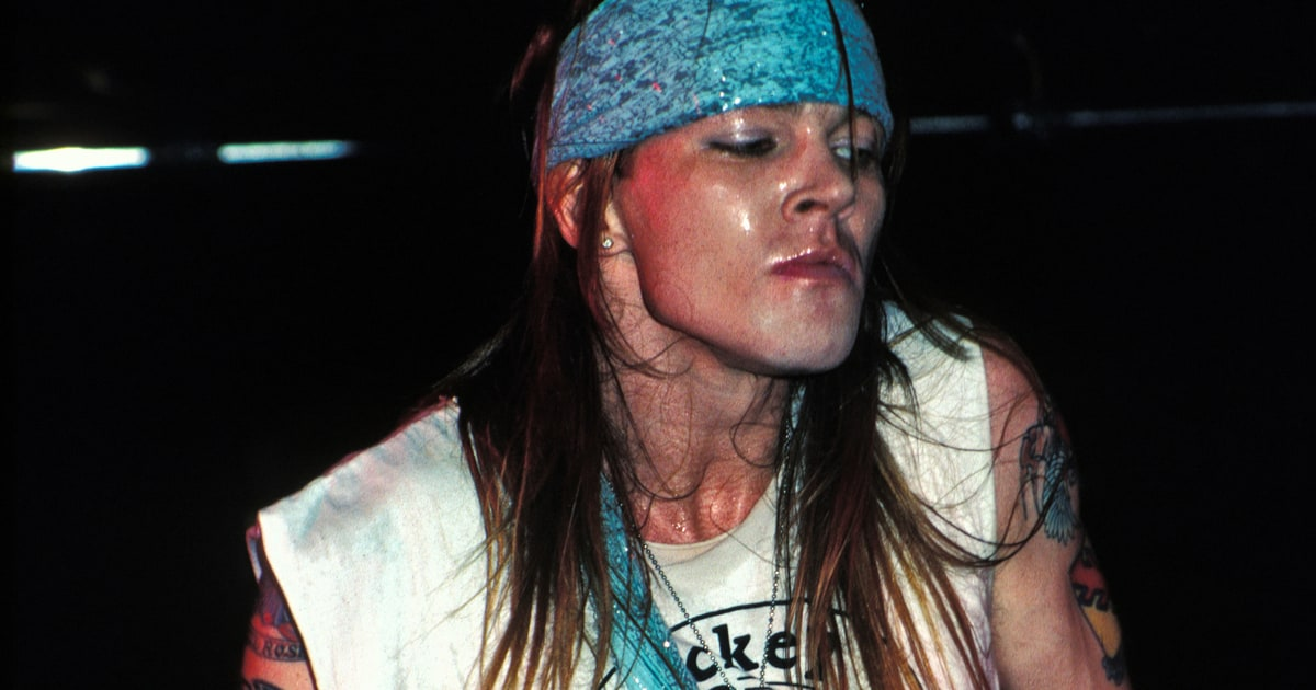 December 19th 1987 Axl Starts Brawl After Being Called A