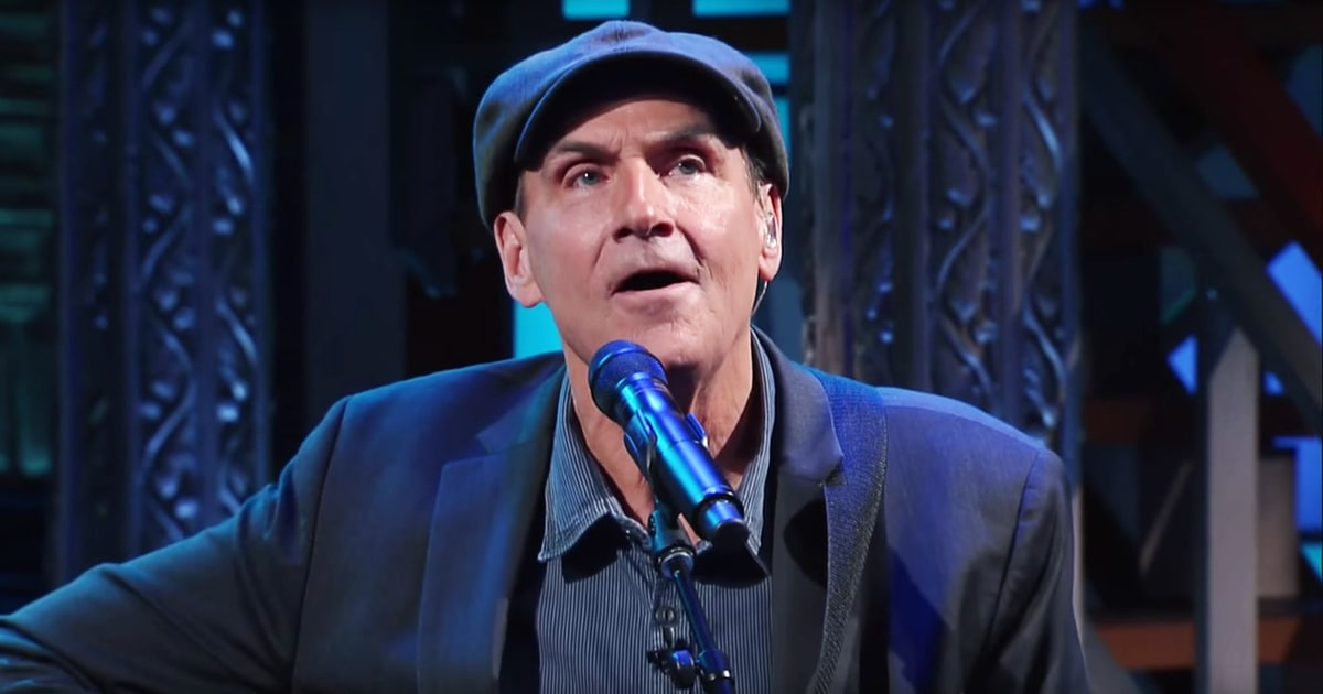 james taylor performs somber french national anthem on. Black Bedroom Furniture Sets. Home Design Ideas