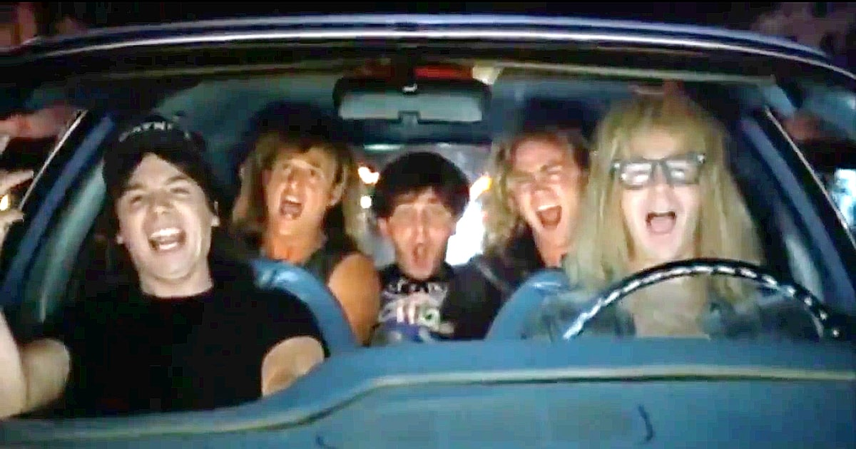 Wayne S World  Car Song