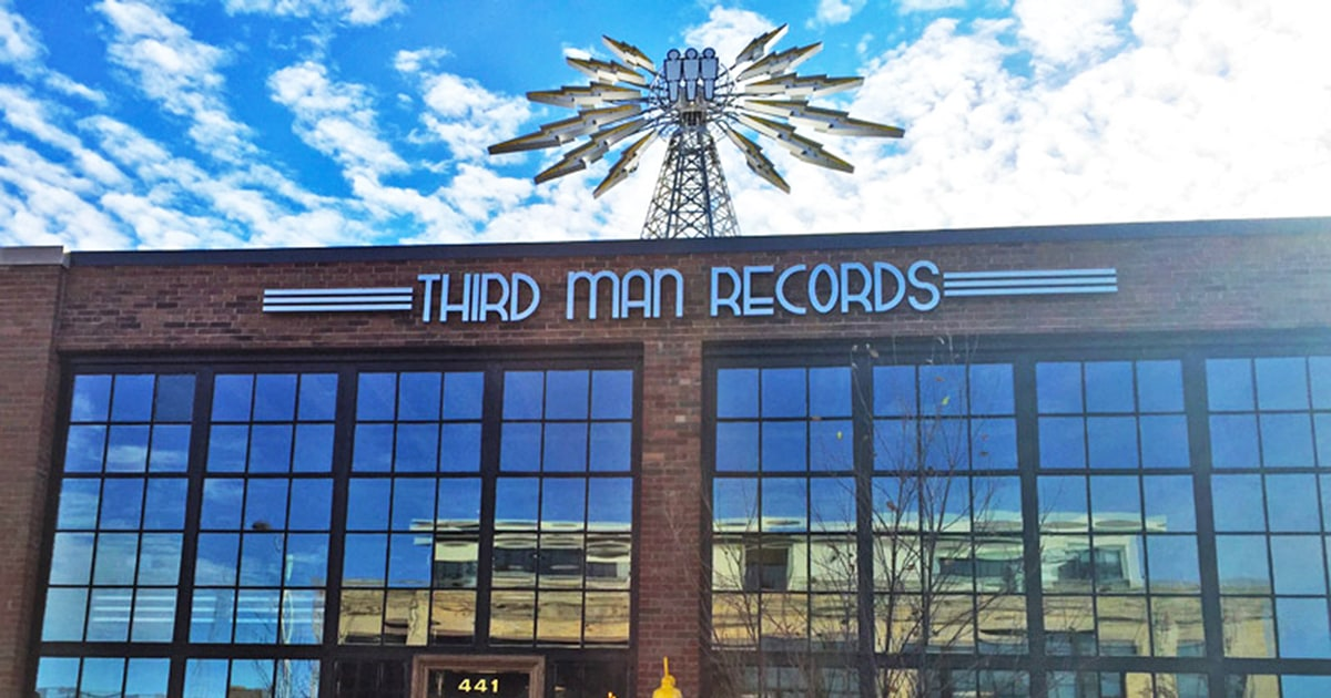 Jack White Comes Home Third Man Records Opens In Detroit