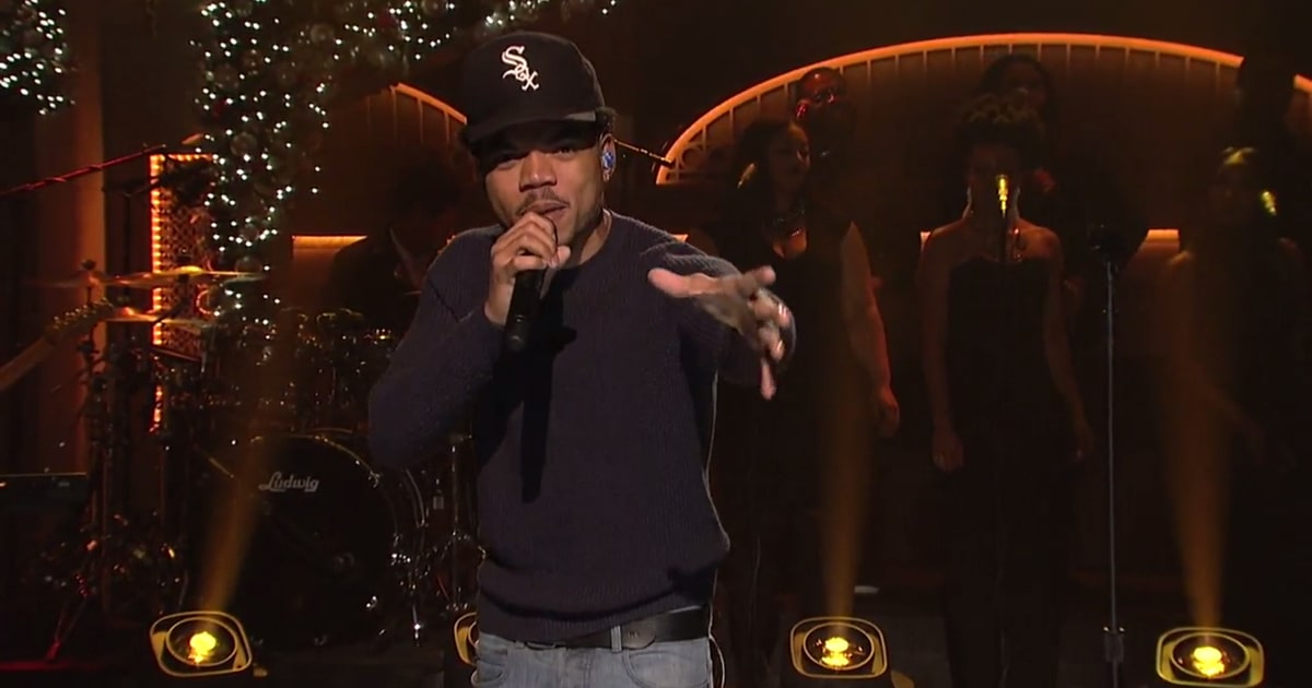 SNL: Chance the Rapper monologue video features ...
