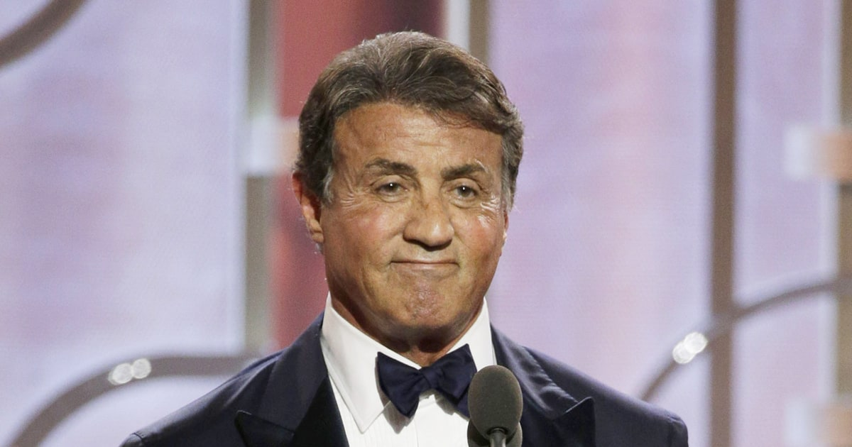 Watch a Tearful Sylvester Stallone Win First-Ever Golden ...