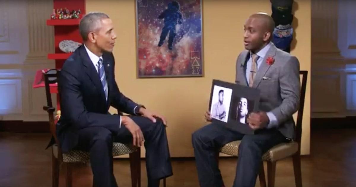 kendrick lamar meet obama in person