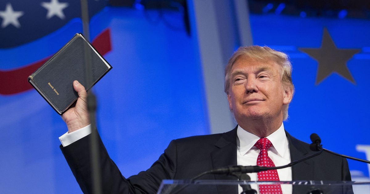 Meet The Evangelicals Who Hate Donald Trump Rolling Stone