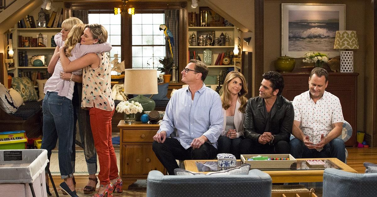 tanner family reunites in first fuller house trailer