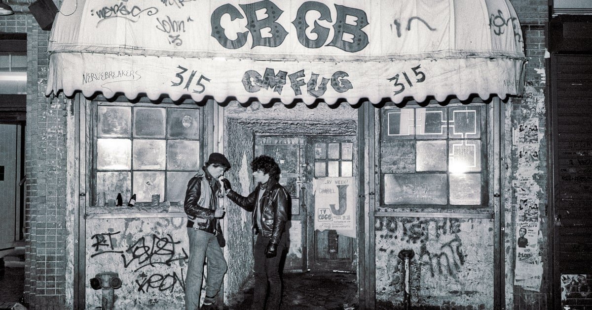 Relive The Gritty Glory Of Cbgb In New Rs Mini Doc About