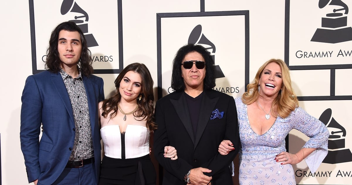 Gene Simmons and Family   Grammys 2016: Photos From the ...