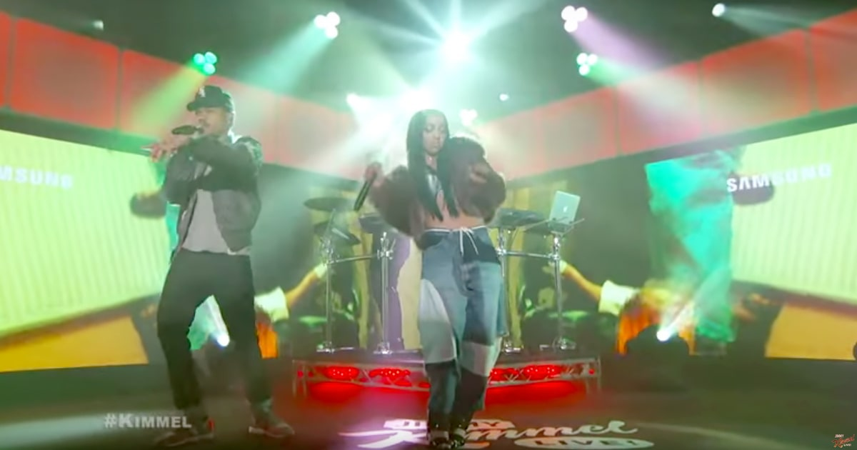 Watch Chance the Rapper, Tinashe Perform All My Friends on Kimmel news