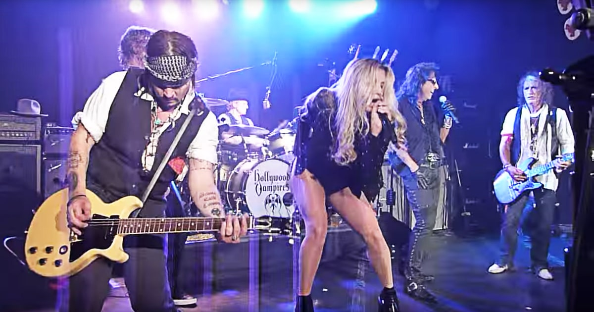 Flashback See Kesha Sing Led Zeppelin With Alice Cooper