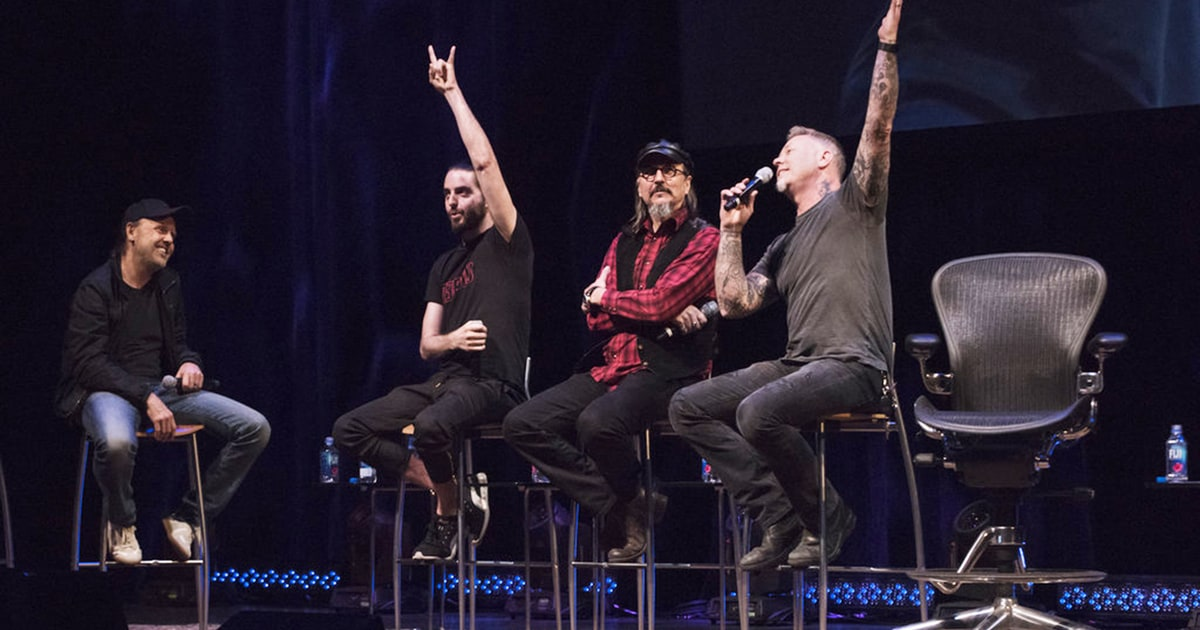 10 Things We Learned At The 2016: 10 Things We Learned At Lars Ulrich's 'Front Row' Summit