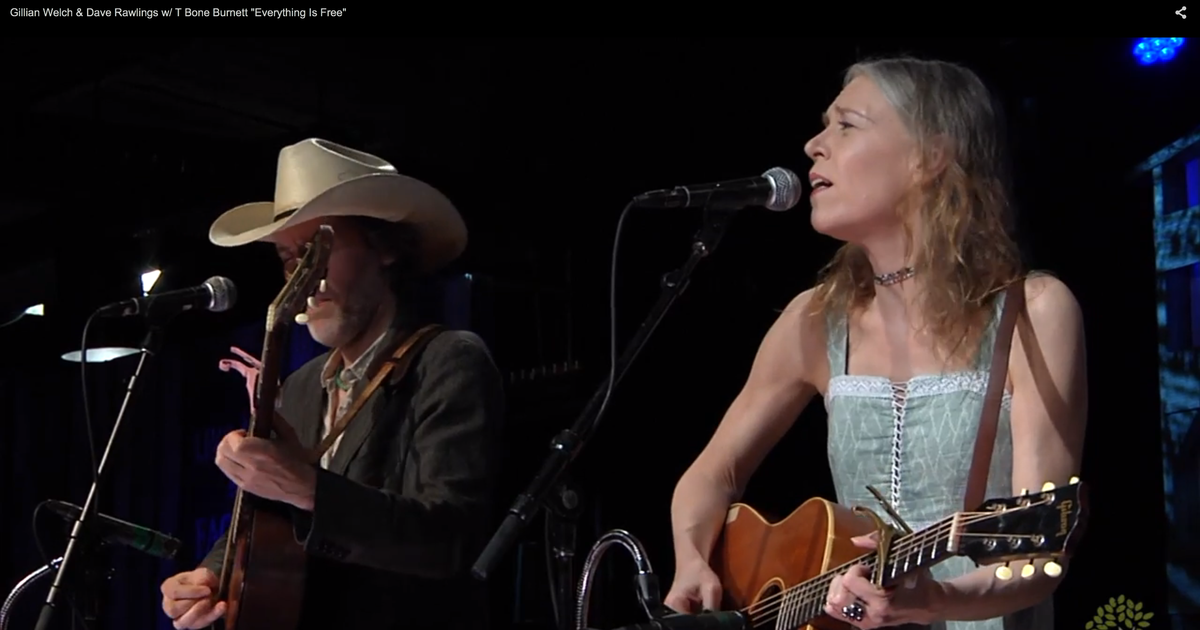 David Janson See Gillian Welch, Dav...
