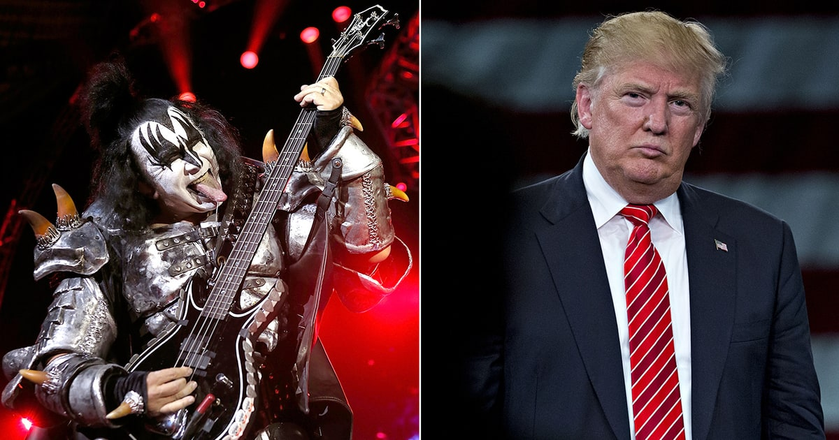 gene simmons. gene simmons on donald trump: \u0027he\u0027s good for the political system\u0027 - rolling stone