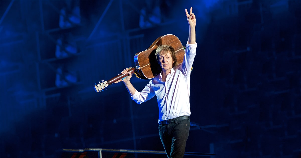 Image result for paul mccartney goodnight 2017