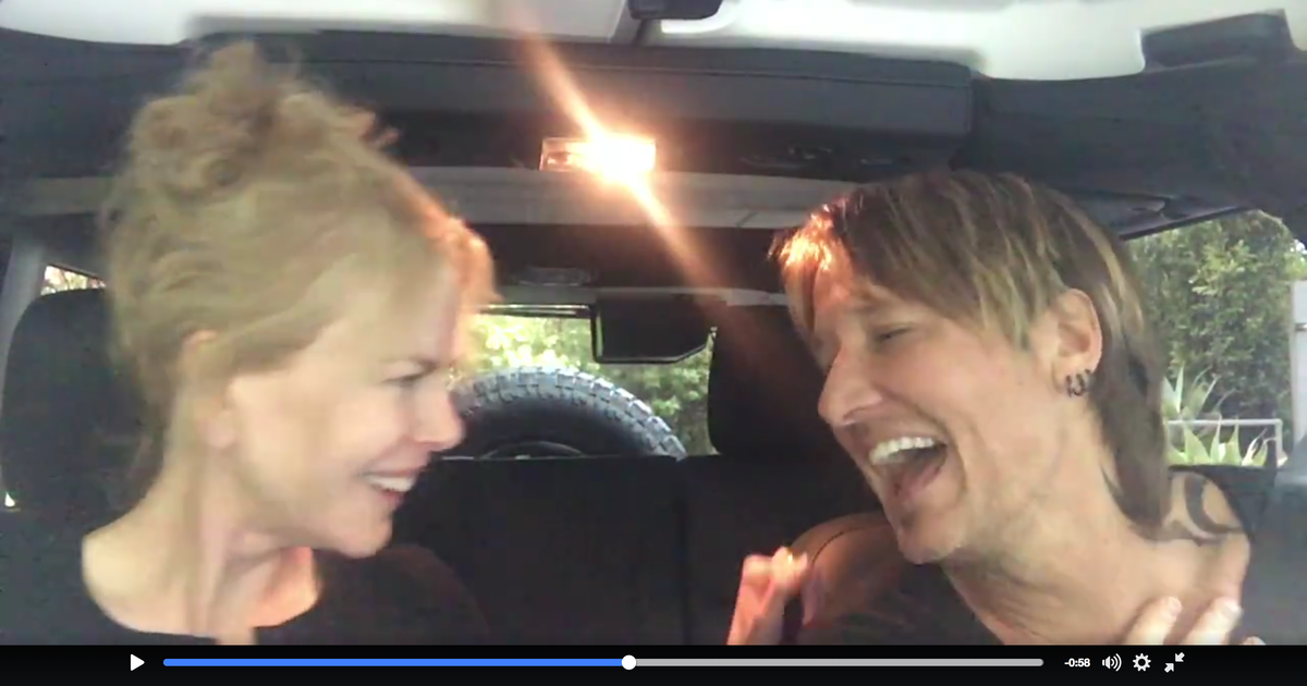 See Keith Urban Nicole Kidman S Front Seat Duet Of The