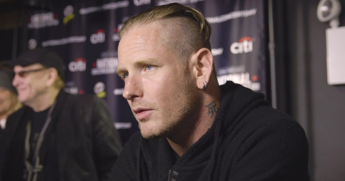 corey taylor - rainbow in the dark