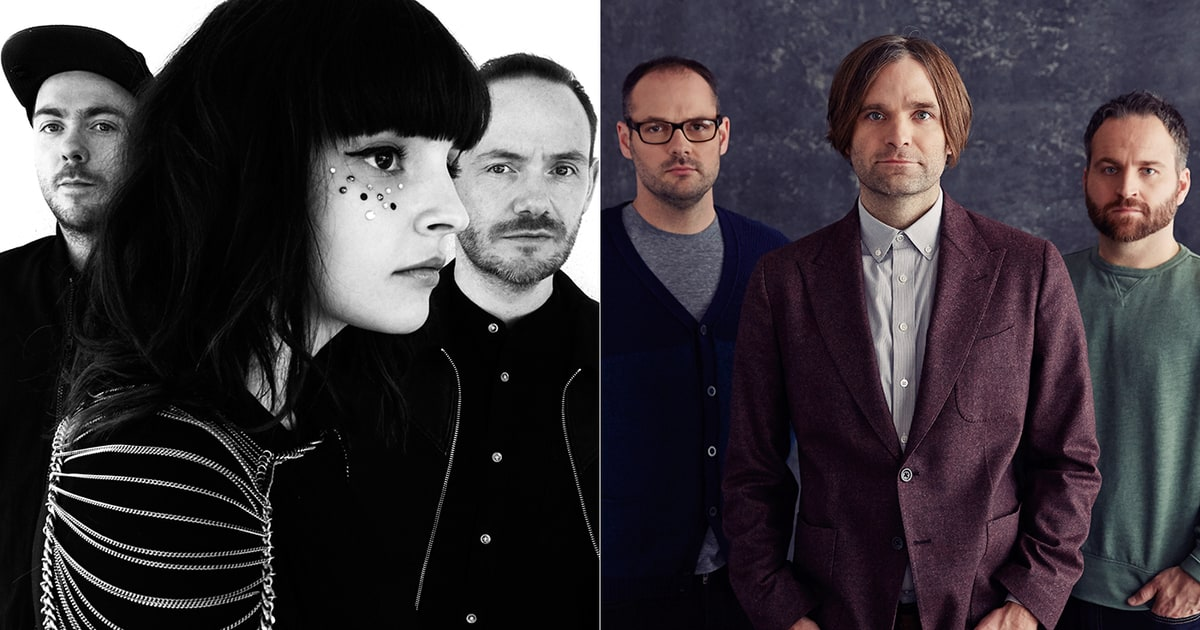 death cab for cutie chvrches turn nc dates into benefit