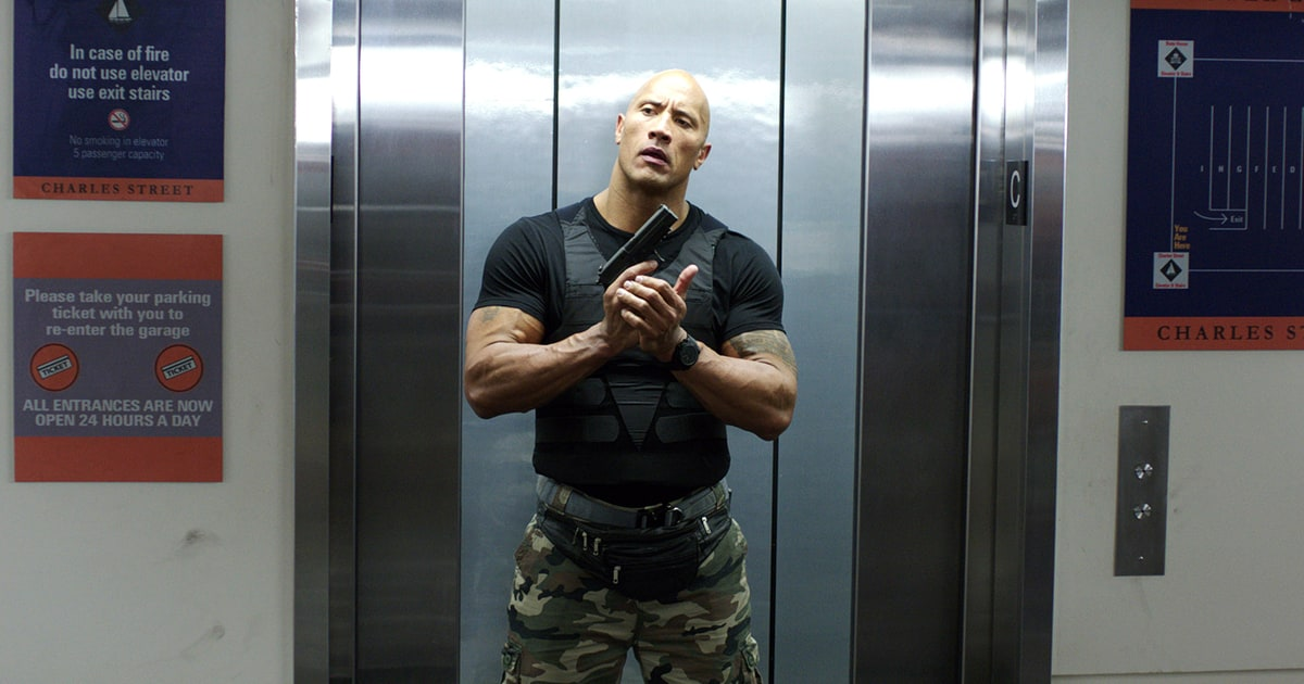the rock first wwe