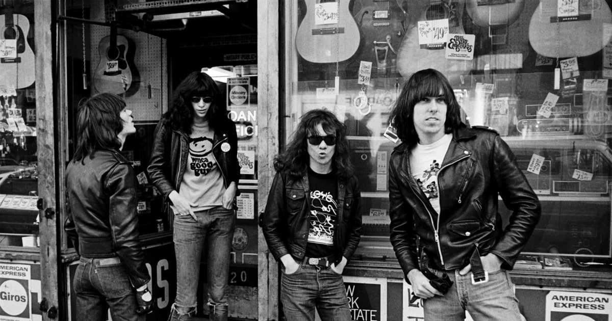 Ramones See Rare Photos From Punks Seventies Peak