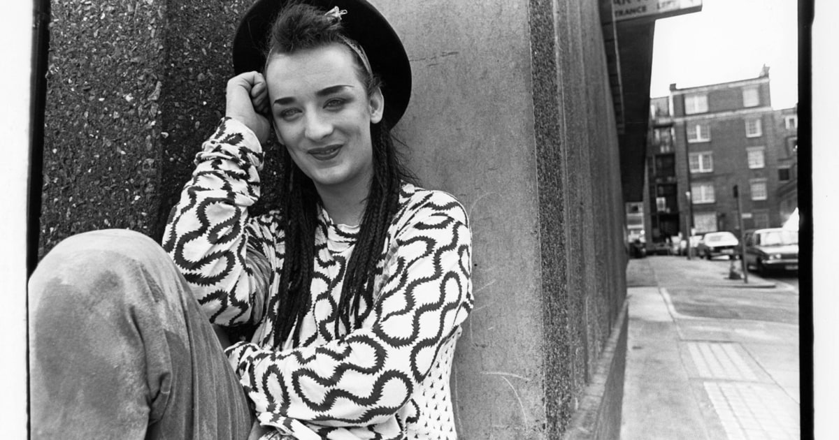 Boy George London 1982 See Intimate Eighties