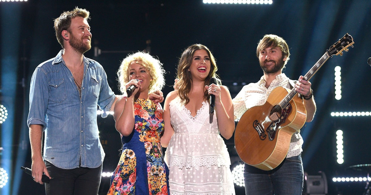 See Lady Antebellum Join Cam On Emotional 39 Burning House