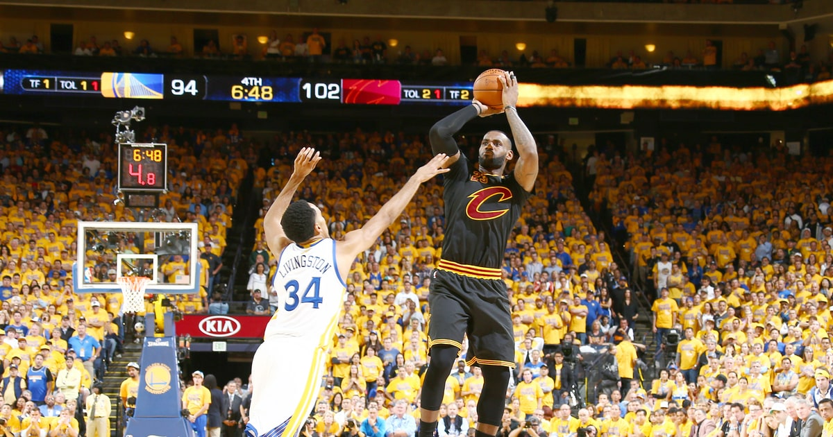 NBA Finals: LeBron James, Kyrie Irving Roar Back, Cavs Win Game 5 - Rolling Stone