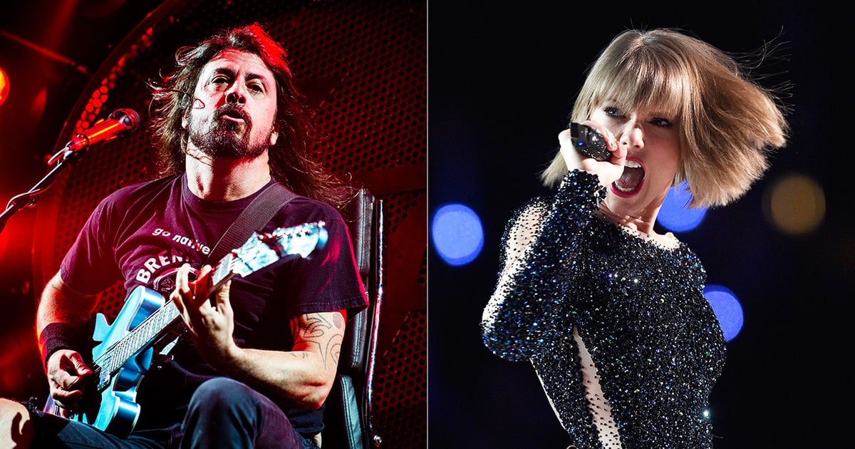 Watch Dave Grohl Play ... Taylor Swift Songs 2016