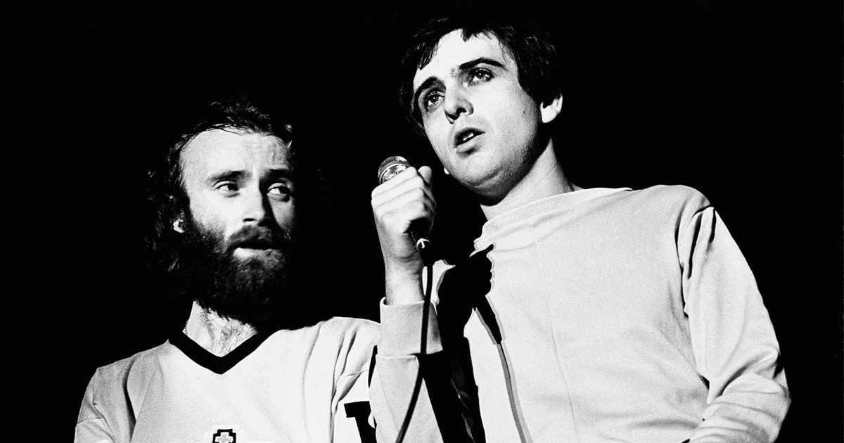 Flashback Peter Gabriel Phil Collins Re Record A Genesis