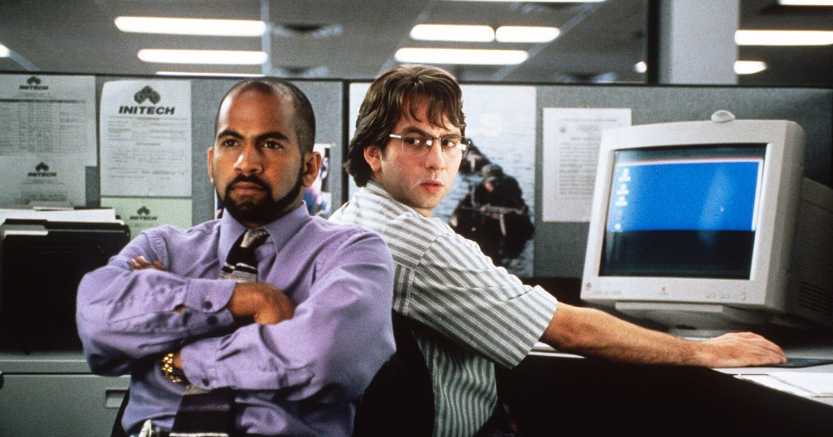 Cool Flashback Office Space Gleefully Mocks Michael Bolton Rolling Largest Home Design Picture Inspirations Pitcheantrous