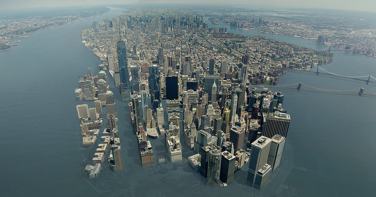 Image result for new york city climate change flooding
