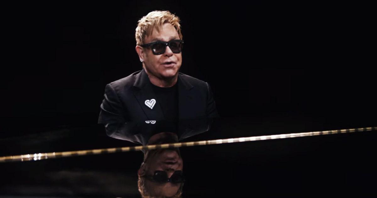 Watch Elton John's Ten...