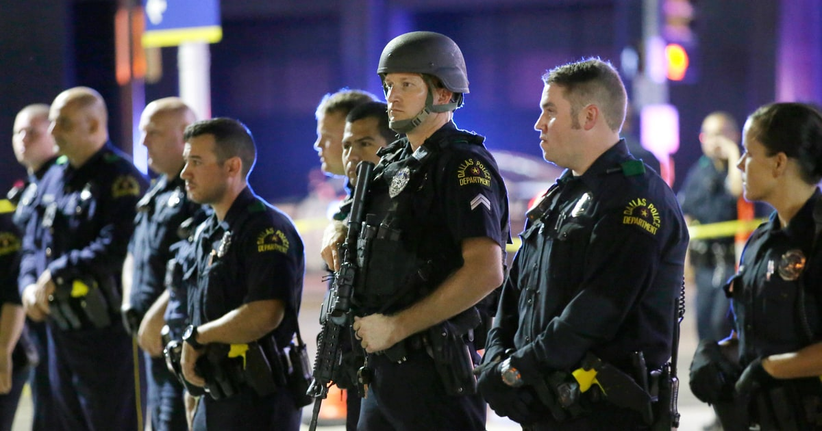 After Dallas, We Don't Need to Say 'Blue Lives Matter ...