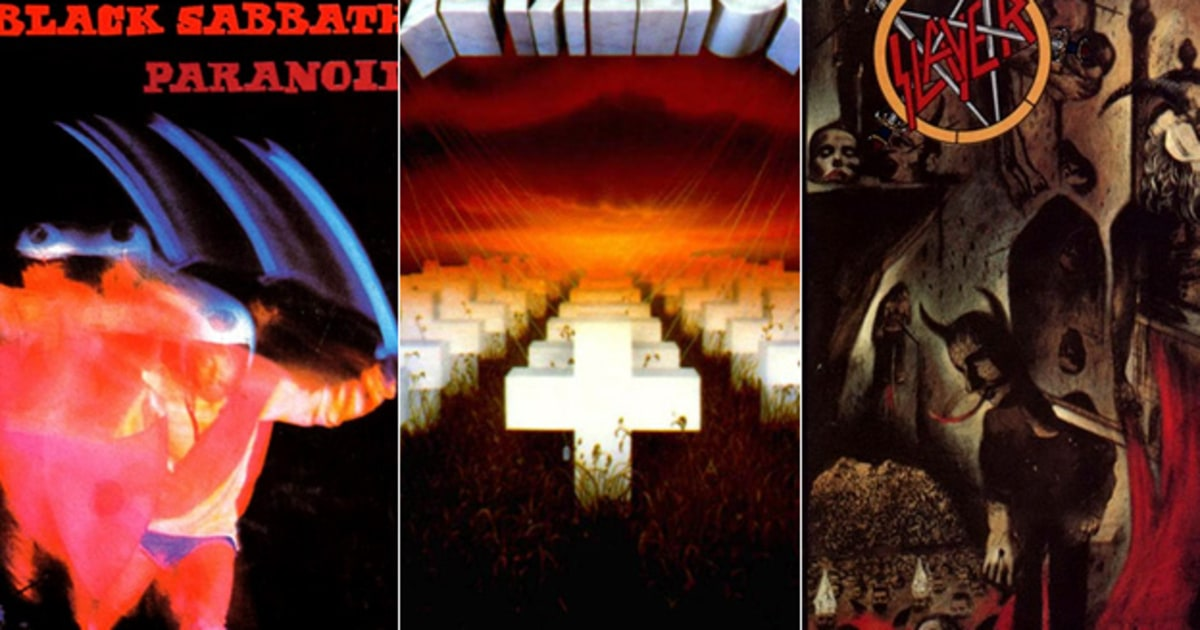 foto de Readers' Poll: The Greatest Heavy Metal Albums of All Time Rolling Stone