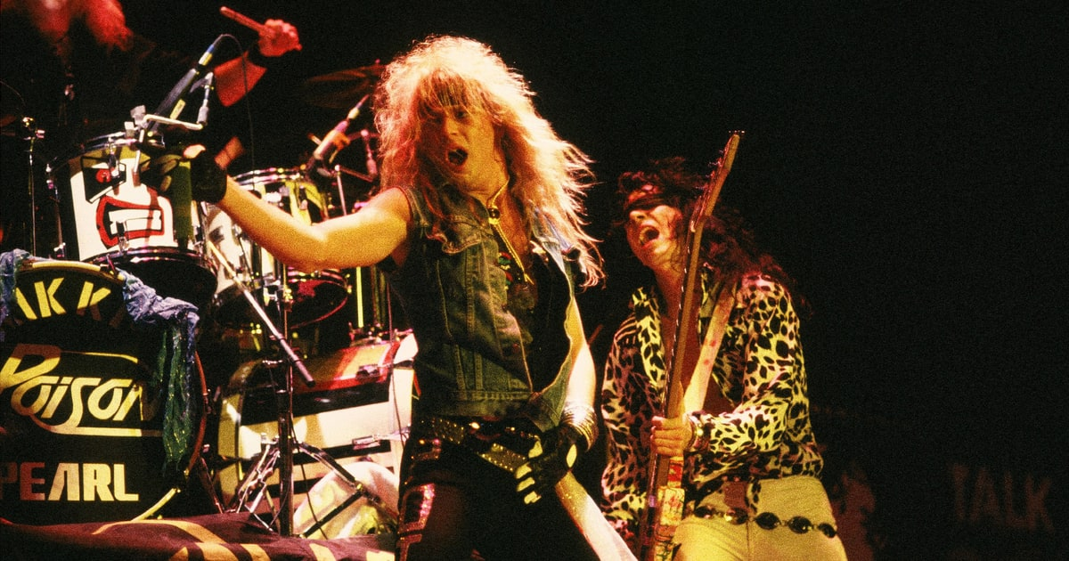 Best Hard Rock, Glam & Heavy Metal Albums of the '80s ...