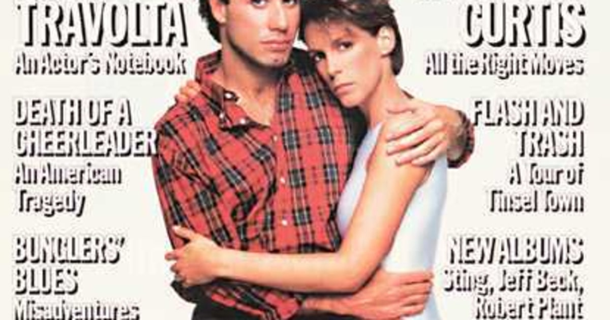 rs452   rs453 jamie lee curtis amp john travolta 1985