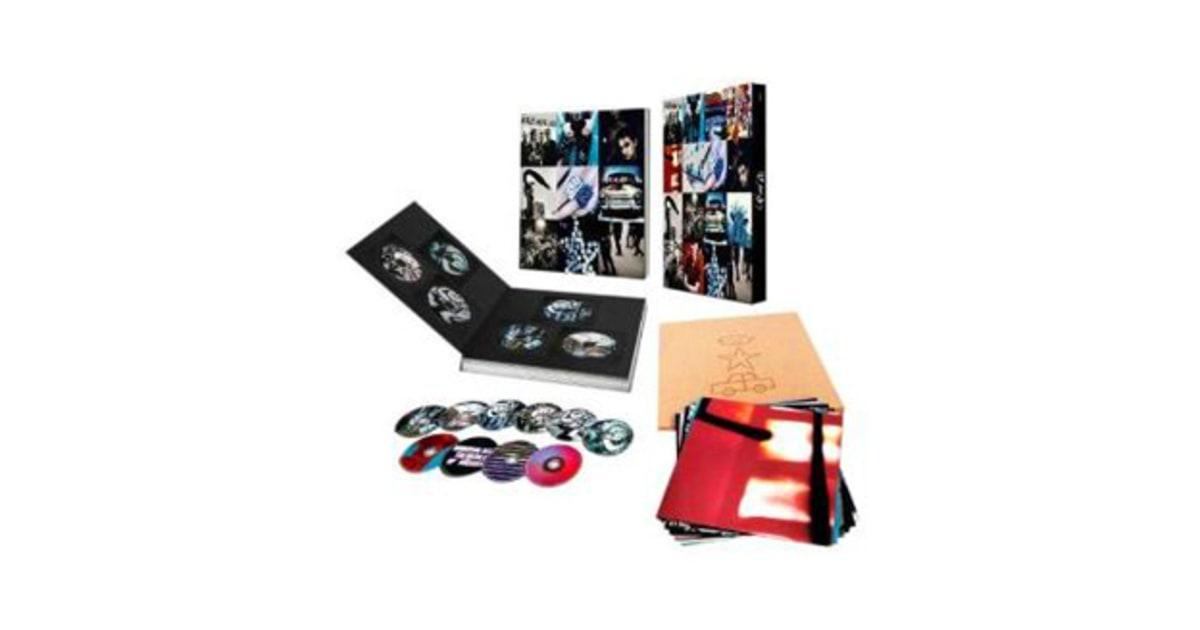 U2 Box Set : win u2 39 s 39 achtung baby 39 super deluxe box set rolling stone ~ Vivirlamusica.com Haus und Dekorationen