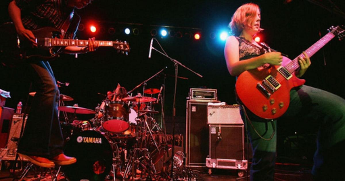 Rock List Female Fronted Sleater Kinney Readers Rock