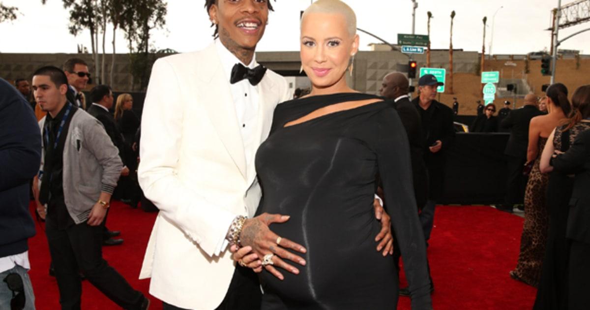 Wiz Khalifa, Amber Rose Welcome Baby Boy - Rolling Stone  Wiz Khalifa, Am...