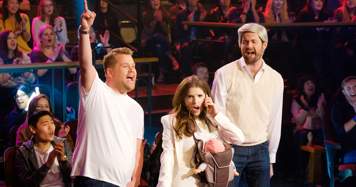 "Anna Kendrick joins Justin Timberlake to promote ""Trolls 